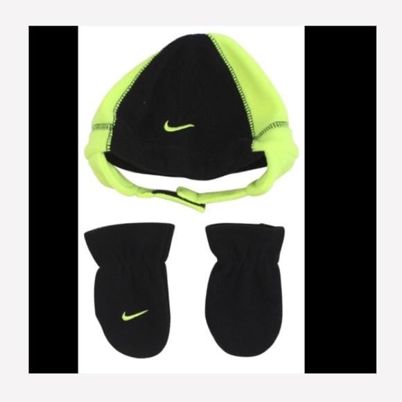57daf1cb Nike Accessories | New Fleece Hat Mittens Toddler 1224 Months | Poshmark
